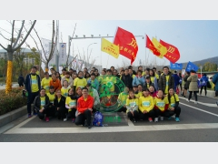 SilverMicro Electronics take part in Lishui marathon running